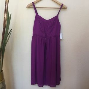 ✅ Old Navy Purple Dress Small NWT